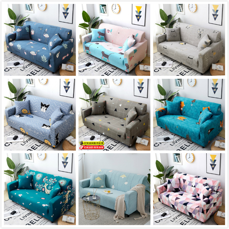 Universal Sofa Cushion Elastic Cover 1/2/3/4 Seater Couch Covers For Sofas Home Sofa Cover High Quality Silpcover