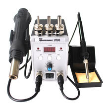 Heat-Gun Desoldering Rework-Station Welding-Repair-Tools SMD Hot-Air 8586 New LED SMT