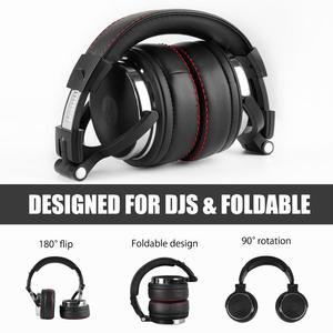 Image 5 - Oneodio Professional DJ Studio Wired Headphone Monitors Headset Over Ear Recording Headphones Stereo Earphone For Phone Computer