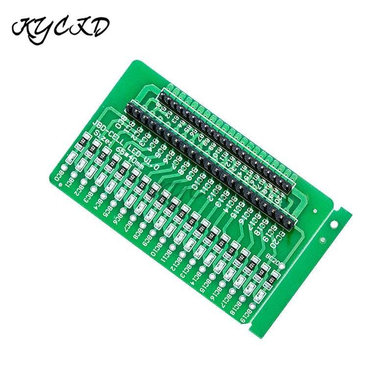 BMS 3S-20S Lithium Battery Tester Board LED Indicator Detection BMS 4S 5S 6S 7S 8S 9S 10S 11S 12S 13S 14S 15S 16S 17S 18S 19S