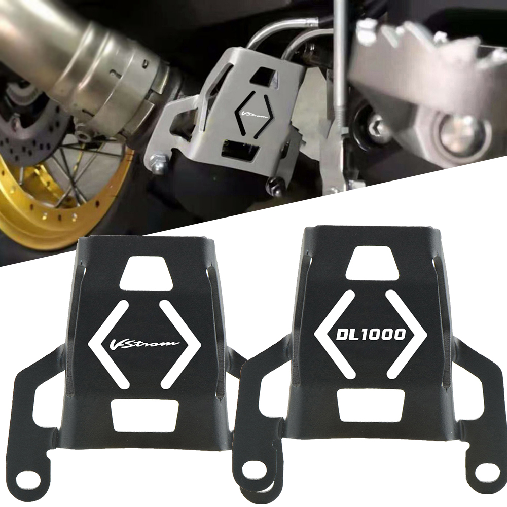 Motorcycle Accessories CNC Exhaust valve guard caps FOR Suzuki DL1000 <font><b>V</b></font>-<font><b>Strom</b></font> <font><b>V</b></font> <font><b>STROM</b></font> <font><b>DL</b></font> <font><b>1000</b></font> 2015 2015 2016 2017 2018 2019 2020 image