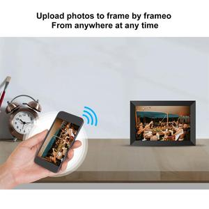 Image 3 - A10 WiFi 10.1 بوصة إطار الصورة الرقمية 1280x800 IPS شاشة تعمل باللمس 16 جيجابايت الذكية إطار صور APP التحكم مع حامل للانفصال