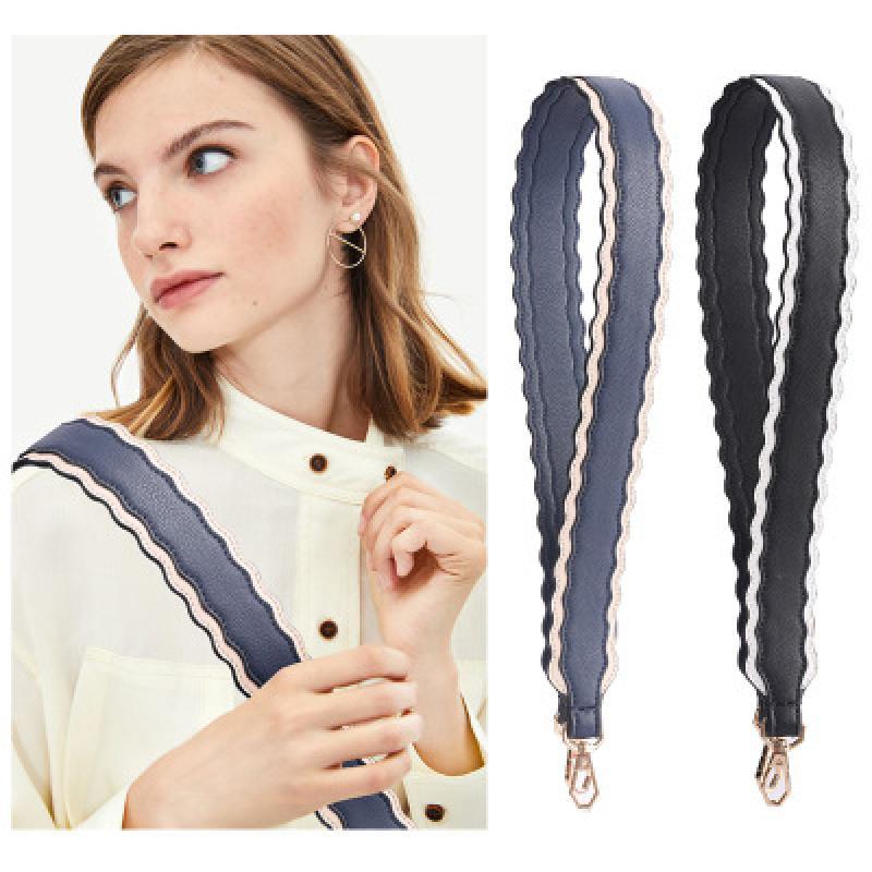 Retro Solid Color Bags Strap Wide Shoulder Bags Straps Women Handbags Belt Detachable Crossbody Messenger Bag Accessories 2021