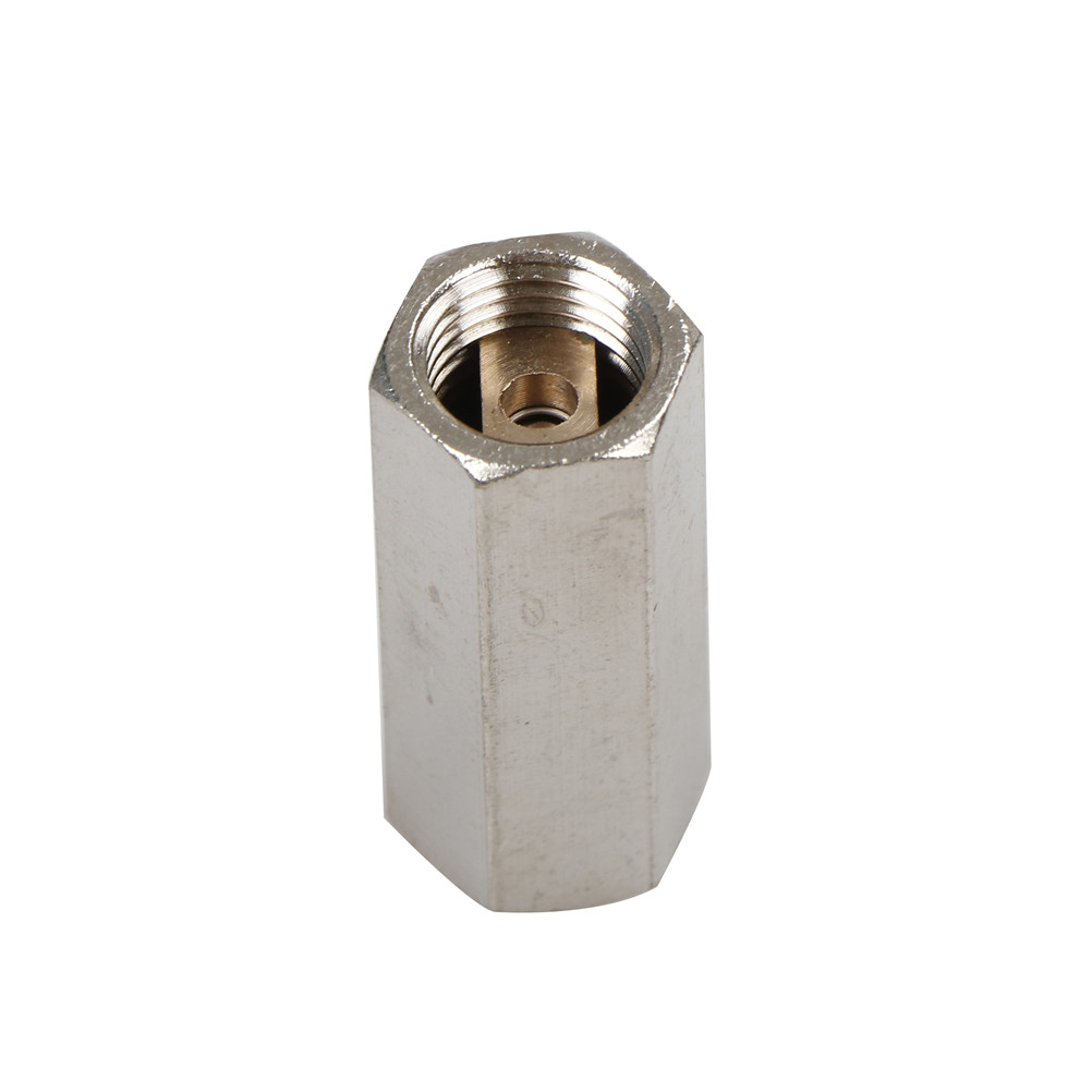 Hot Brass 1/4'' Threaded BSPP Female Full Port One Way Air Check Gas Oil Water Valve