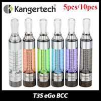 5-10 stücke E-Cigs Kanger T3S eGo BCC 1,8 ohm Cartomizer Bottom Spule Veränderbar Clearomizer spiel eGo /eGo-T/eGo C Twist vape batterie