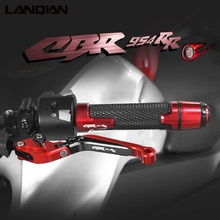 Voor Honda CBR954RR Motorfiets Accessoires Aluminium Rem Koppeling Hevels Stuur Hand Grips Ends Cbr 954 Rr 2002 2003 Onderdelen