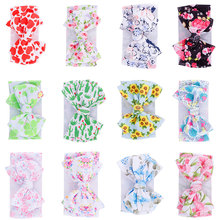 1 Pcs New Baby Wide Headband Baby Girl Head Bands For Girls Infant Head Wrap Turban Kids Bows Hairband Hair Accessories стоимость