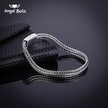 Браслет цепочка мужской/женский серебристый 5 мм