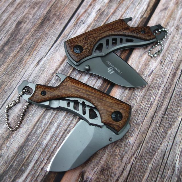 Mini Pocket Folding Knife | Titanium