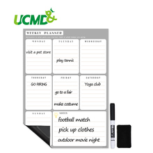 Magnetic Calendar Erasable Board Classroom Daily Weekly Monthly Planner Message Boards Smart Planners for Kitchen Refrigerator 2019 table calendar 2018 weekly planner monthly plan to do list desk calendar daily rainlendar simple style desktop calendar