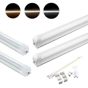 4X 10X 120CM 18W T8 LED Röhre Tube Lampe Lichtleiste Leuchtstoffröhre Leuchtstofflampe Komplett Kaltweiß Warmweiß Neutralweiß
