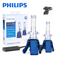 Philips H7 LED H4 H11 H16(JP) HB3 HB4 9005 9012 HIR2 Car Headlight Bulbs 6000K Fog Lights nebbia diode lamps for cars auto 12V