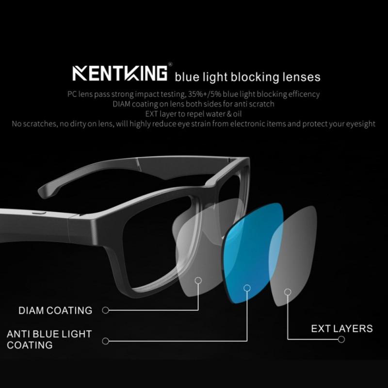 2020 haut de gamme lunettes intelligentes sans fil Bluetooth mains libres appel Audio oreille ouverte Anti-lumière bleue lentilles lunettes de soleil intelligentes! - 3