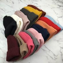 Tall Beanies Unisex Wool Knitted Skullies Men Women Hip Hop Fashion Skullcap Elastic Hats Casual Warm Autumn Winter 17 Colors