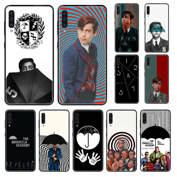 The Umbrella Academy Phone case For Samsung Galaxy A 3 5 8 9 10 20 30 40 50 70 E S Plus 2016 2017 2018 2019 black painting cover image