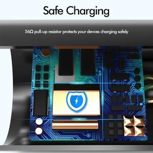 Image 5 - Micro USB câble 3A chargeur rapide USB cordon Suntaiho 90 degrés coude Nylon tressé câble de données pour Samsung/Sony/Xiaomi téléphone Android