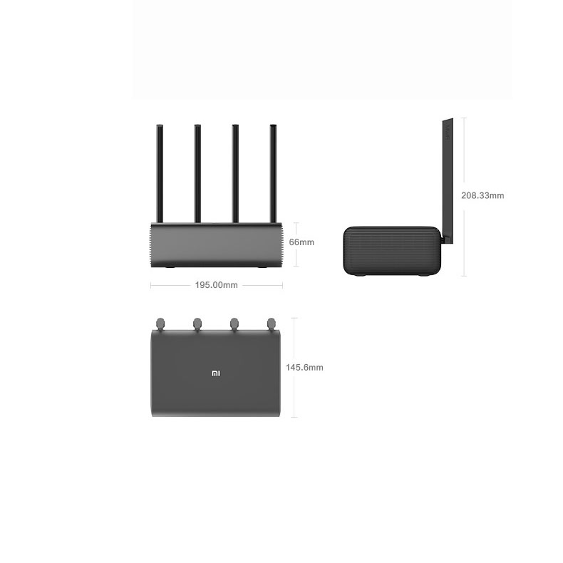 Xiaomi Mijia Mi Wireless Router Pro 5G WiFi System App Control Home Wifi Network Device Wifi Repeater