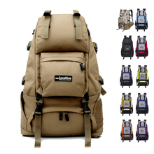 New Outdoor Tactical Backpack Military Bag Multifunctional Waterproof Sports Backpack 45L Climbing  Camping Hiking Trekking Bags canvas multi layer hiking trekking bag tactical military men sports and climbing waist bag new outdoor bum hip bag