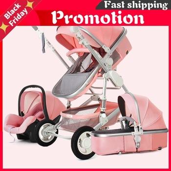 Wózek dziecięcy High Landscape 3 w 1 z fotelikiem samochodowym wózek dziecięcy i wózek z siedzeniem samochodowym zestaw niemowlę noworodek wózek dla dziecka wózek tanie i dobre opinie CN (pochodzenie) Numer certyfikatu MATERNITY W wieku 0-6m 7-12m 13-24m 25-36m 15 kg A986A