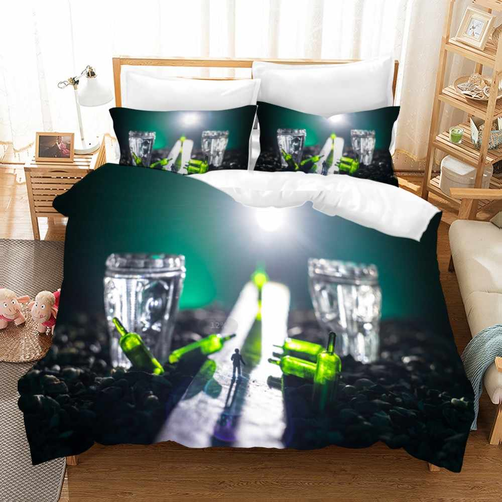3pcs Microfiber Cozy Bedding Sets