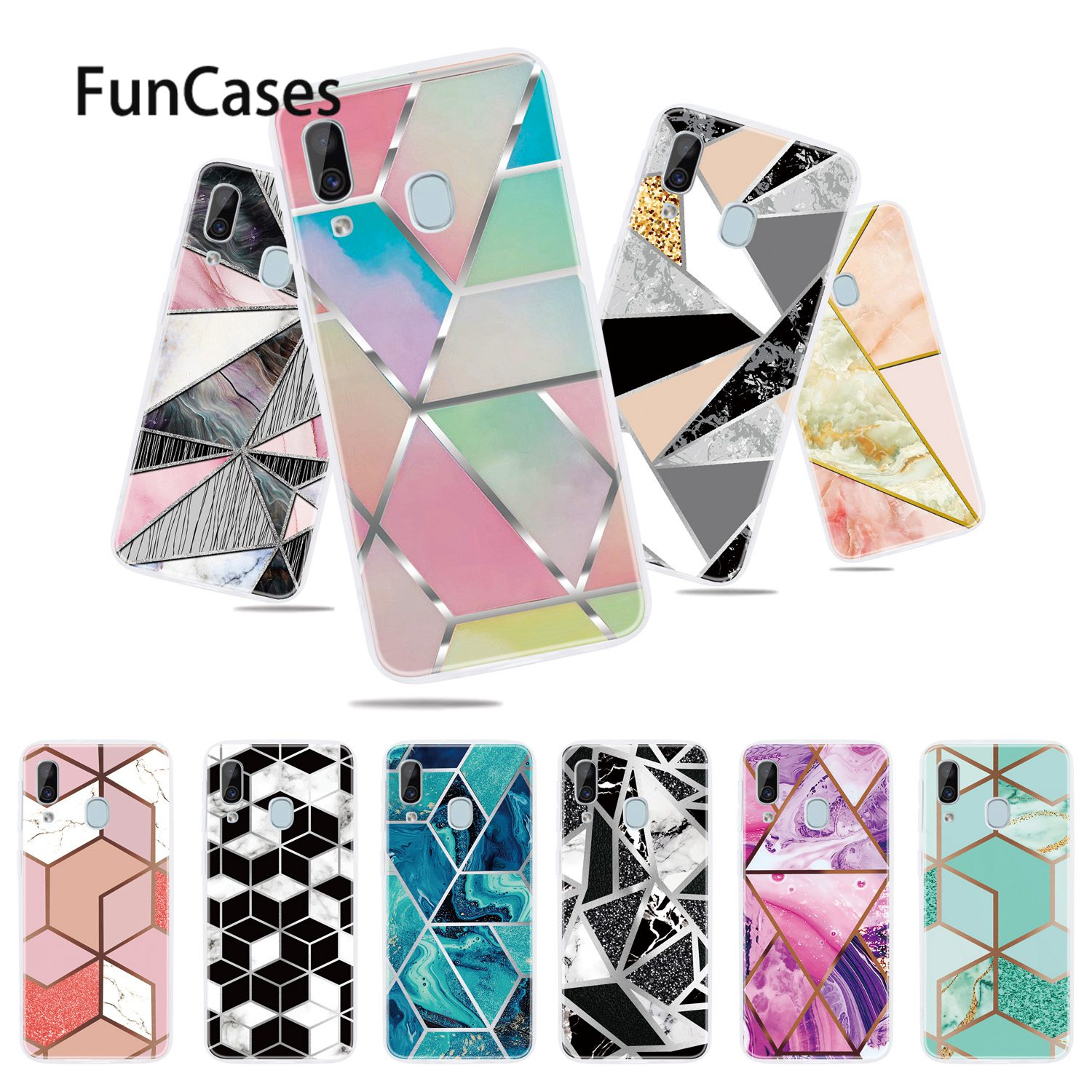Soft TPU Cover For capa <font><b>Samsung</b></font> A20E Telephone Accesories sFor <font><b>Samsung</b></font> Galaxy coque A10E A30S A40 A70 A20S A20 A50S <font><b>A50</b></font> A30 A10 image