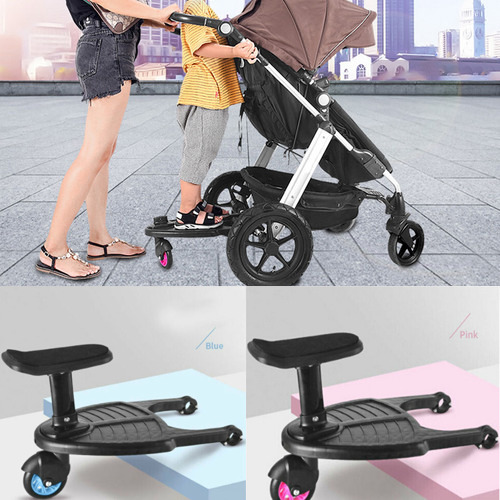 Fashion Baby Strollers Step Buggy Board Stand Connector Children Stroller Pedal Adapter Second Child Auxiliary Trailer For 3-7T