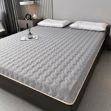 Four seasons mattresses Thicken Soy fiber filling tatami  student dormitory Foldable mats King Queen Twin Full Size bed product
