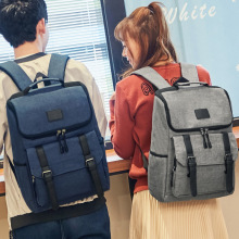 Vintage waterproof male backpacks fashion women casual school bags 16 inches Laptop backpack Large capacity travel bag