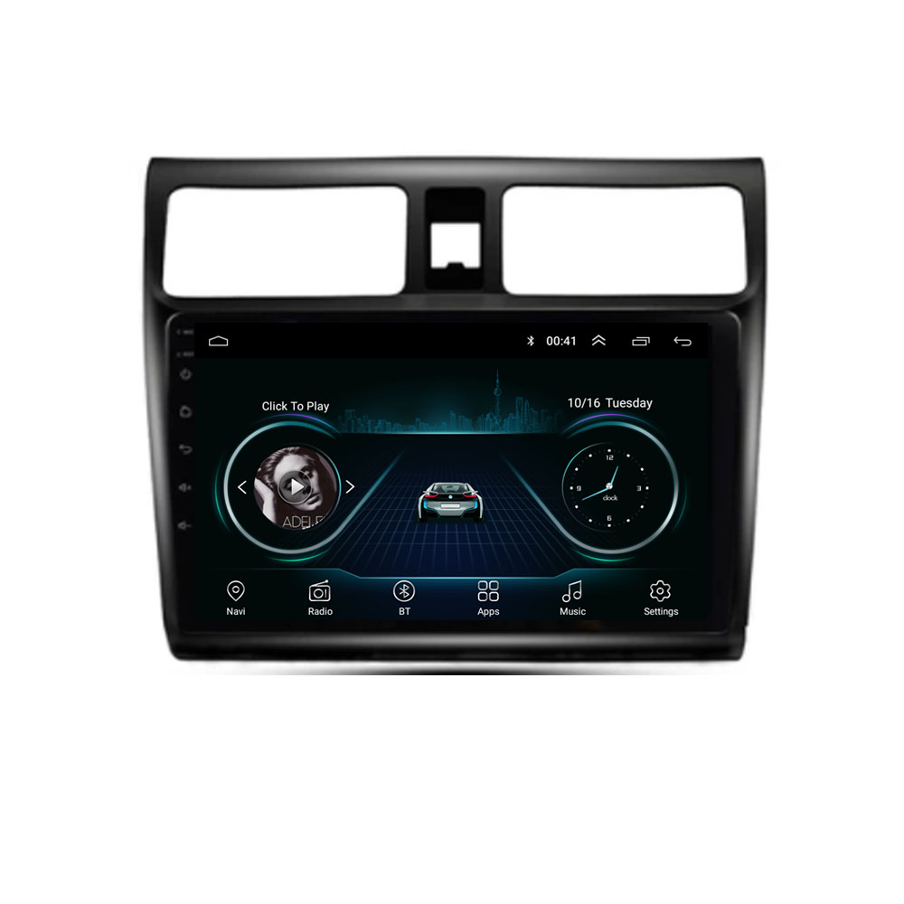 Quad Core Android 8.1 For SUZUKI SWIFT 2004 2005 2006 2007 2008 2009 Multimedia Stereo Car DVD Player Navigation GPS Radio