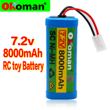 Toy-Battery Boat Nimh Rechargeable 8000mah RC with Tamiya-Discharge-Connector for Rc-Racing-Cars