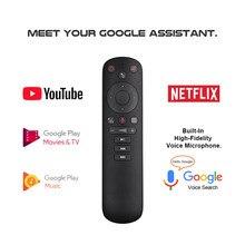 Giroscopio inalámbrico con Control remoto por voz G50S, dispositivo con micrófono de aprendizaje IR para Android TV Box X3 Pro H96 Max X96 Max