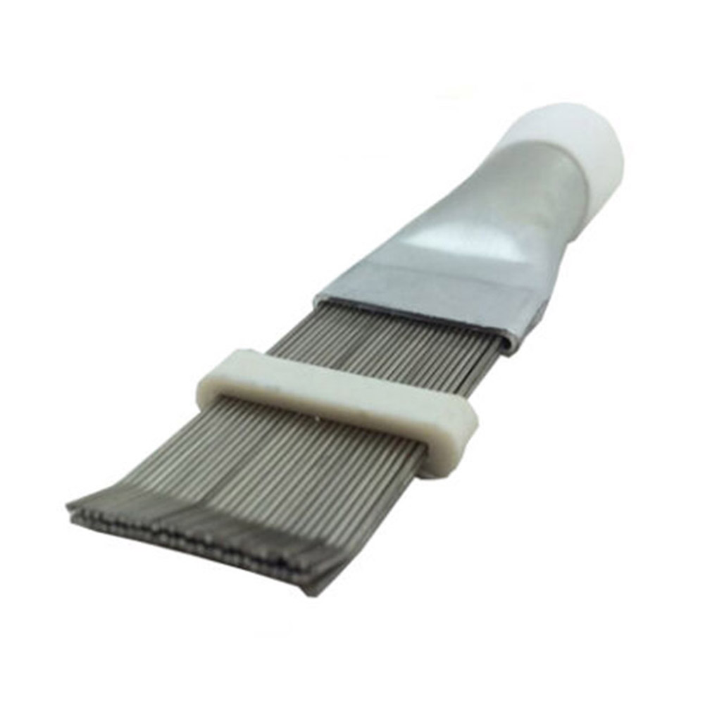 1/2/3pcs Stainless Steel Fin Comb Air Conditioner Fin Cleaner Evaporator Radiator Repair Tool  L5 #4