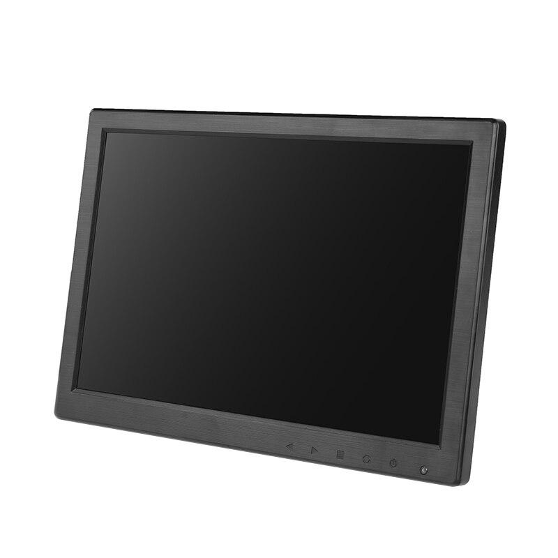10,1 дюймовый широкоэкранный монитор 1280*800 1920*1200 tft небольшой дешевый hdmi vga монитор с динамиками - 3