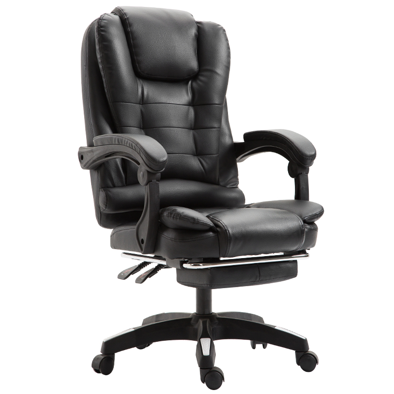 Fashion Comfortable Executive Office Chair Leather Chair Lift Chair  Gaming Ergonomic Computer Chair  Swivel Chair Can Lying