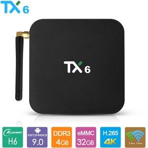 TX6 Android 9.0 TV Box Allwinn