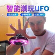 Flynova Радиоуправляемый мини-Дрон НЛО Радиоуправляемый квадрокоптер Fingertip Upgrade Flight Gyro Flyin Spinner декомпрессионные радиоуправляемые игрушки подарок для детей