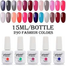 15ml Big Bottle Nail Gelpolish UV/LED Nail Gel Polish Soak Off Nail Polish Long Lasting UV Gel Nail Varnish Dry With LED Lamp все цены