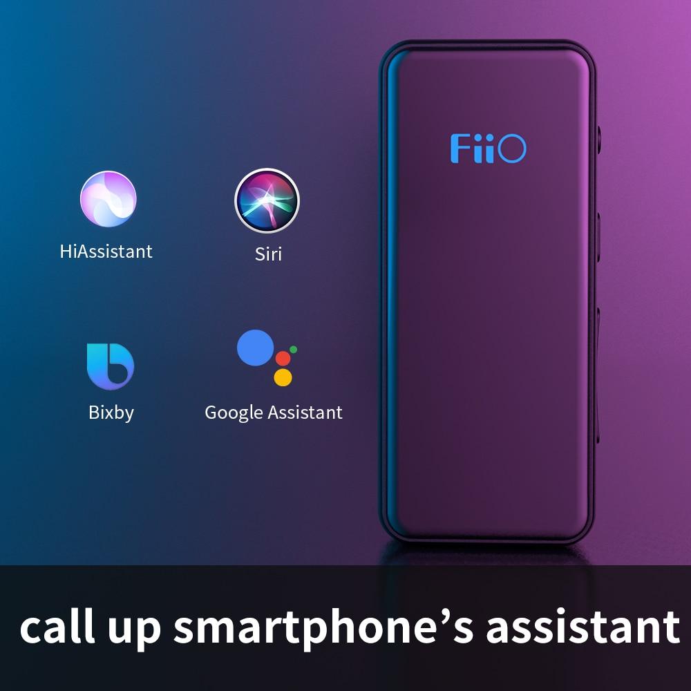 Fiio BTR3K AK4377A *2 Balanced Bluetooth 5.0 Amp USB DAC,support LDAC/aptX HD lossless HiFi Codecs,Hands-free Calling,2.5/3.5mm 3