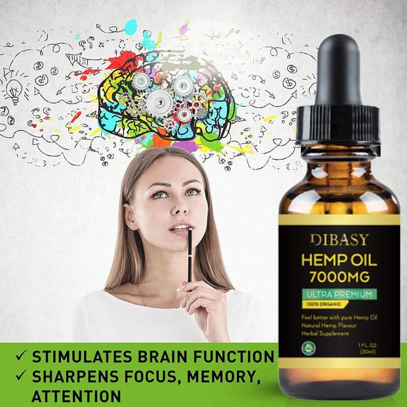 Essential Oils 7000mg CBD Oil Organic Hemp Seed Extract