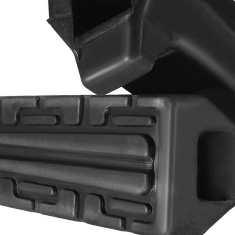 Image 2 - 1 Pair Left & Right Motorcycle Rubber Front FootRest Foot Pegs For Yamaha YBR125 YBR 125 All Years Motorcycle Accessories-in Foot Rests from Automobiles & Motorcycles