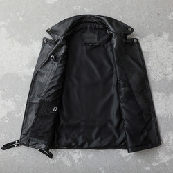 Details about  /Mens Motorcycle Waistcoat Cow Hide Leather Rider Motorbike Casual Vest XS-6XL