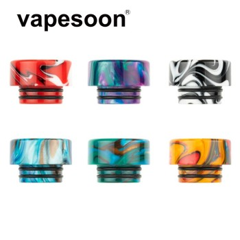 Color Resin 810 Drip Tip Vape Mouthpie for 810 Thread Atomizer Tank RBA RTA RDTA Vaporizer Electronic Cigarette image