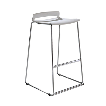 цена на Leisure bar stool modern fashion style chair for household White meeting bar chair home furniture
