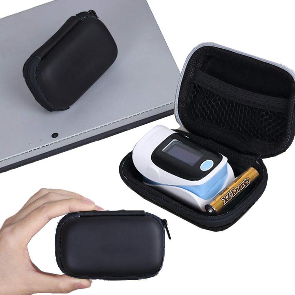 Hard EVA Travel Oximeter Protecive Case Bag Portable Zipper Carry Pouch Box For Fingertip Pulse Oximeter