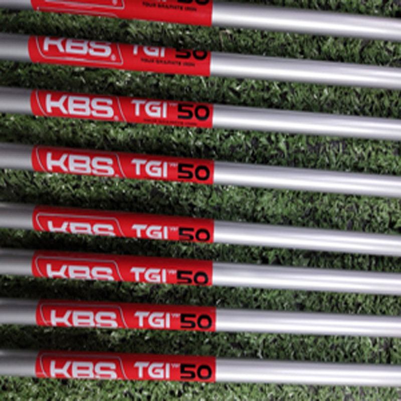 KBS TGI 50 60 70 80 95 golf irons graphite shaft 10piece batch up order title=