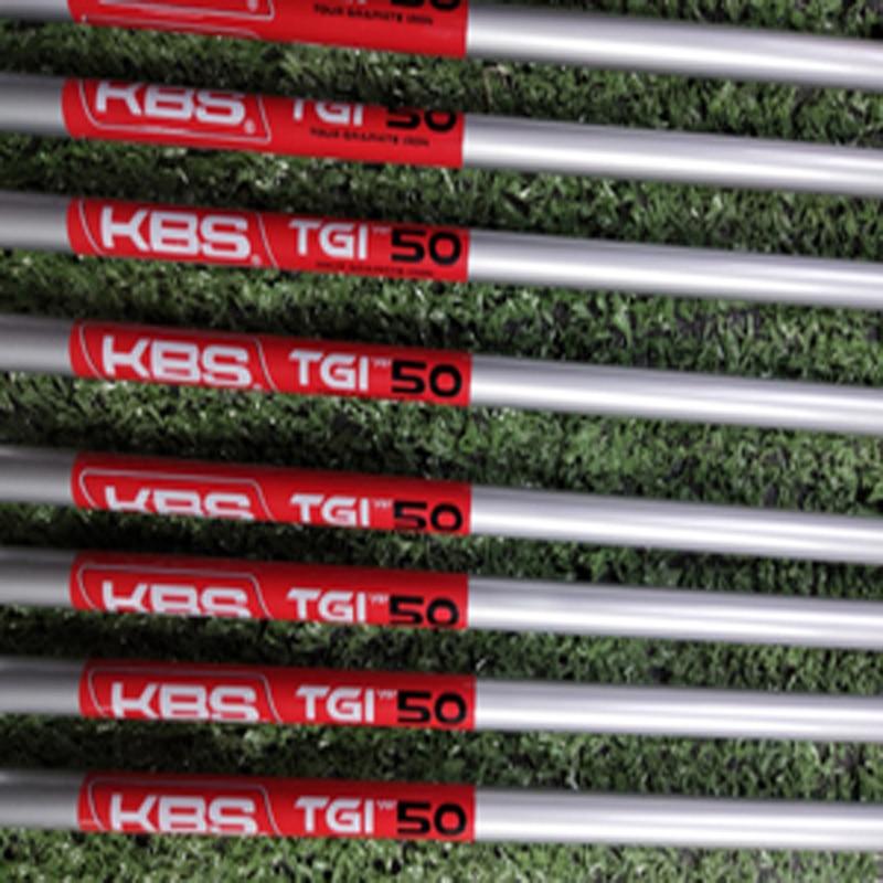KBS – fers de golf TGI 50 60 70 80 95 avec manche en graphite, commande par lots de 10 pièces