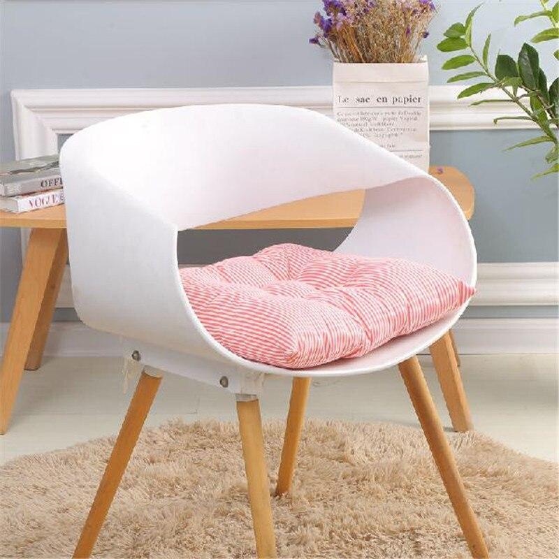 Chair Back Seat Cushions Square Dinning Stool Pad All Seasons Chair Cushions Soft Sofa Pillow Car Seat Mat Cushion 16 Colors