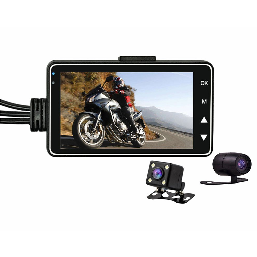 Hd Waterproof Driving Recorder Cycle Video Professional Fashion Car Black Box Motorcycle Recorder Se300|DVR/Dash Camera|Automobiles & Motorcycles - title=