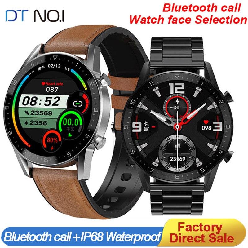 Умные часы DT NO.1 DT92 для мужчин и женщин, водонепроницаемые спортивные Смарт-часы с поддержкой Bluetooth, с пульсометром, тонометром, кислородом, PK ...