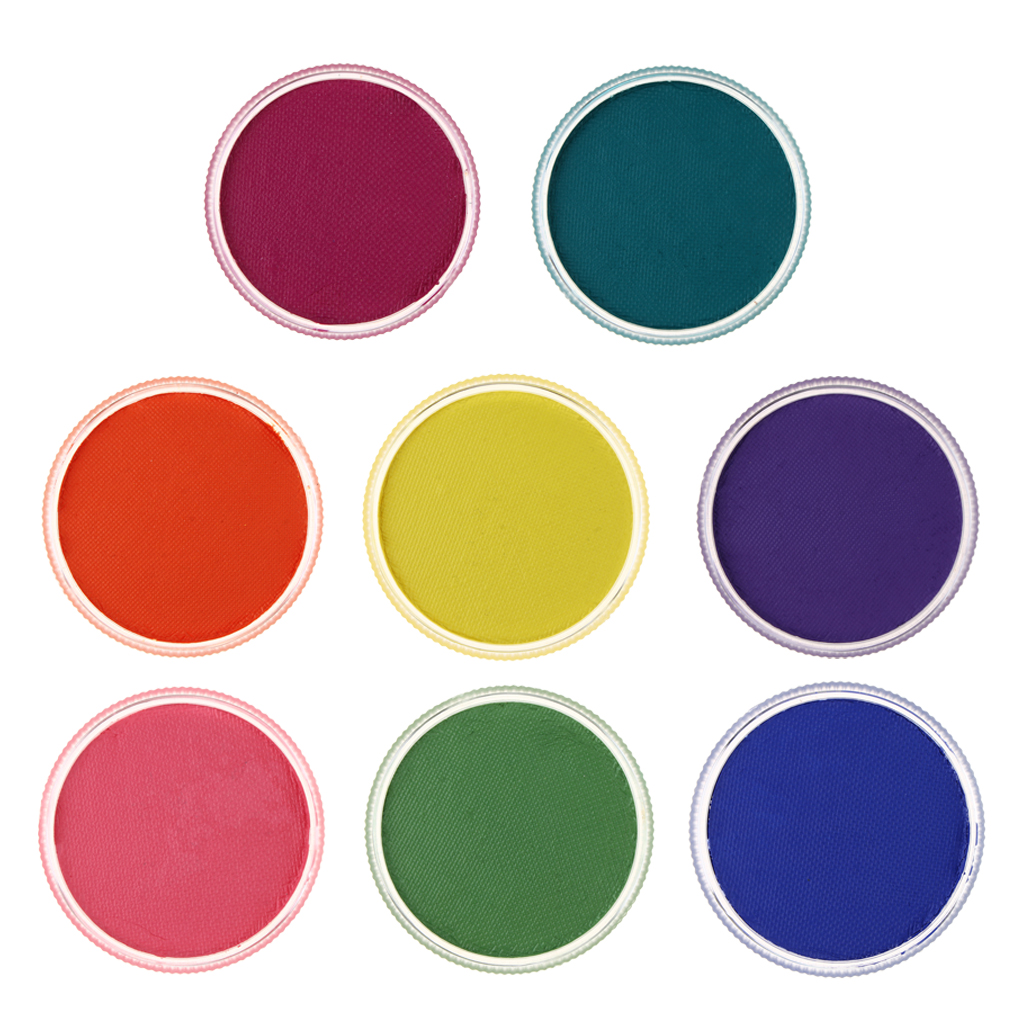8 Colors Face Paint for Kids - Non-toxic Water Based Paints for Professionals - Halloween Makeup Painting Palette